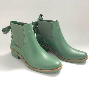 Bernardo Paxton Lace Up Waterproof Rain Boots 9